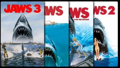 Der weiße Hai Filmreihe