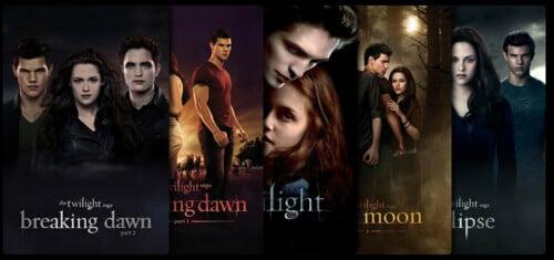 Die Twilight Filmreihe