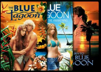 El lago azul - Colección
