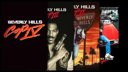 Superdetective en Hollywood - Colección