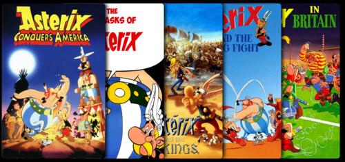 Astérix (Animación) - Colección