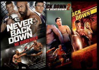 Never Back Down - Saga