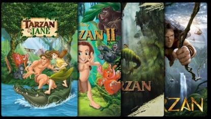 Tarzán (Animación) - Colección