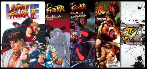 Street Fighter - Colección (Animación)