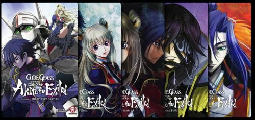 Code Geass: Akito the Exiled - Saga