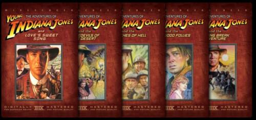 Las aventuras del joven Indiana Jones - Colección
