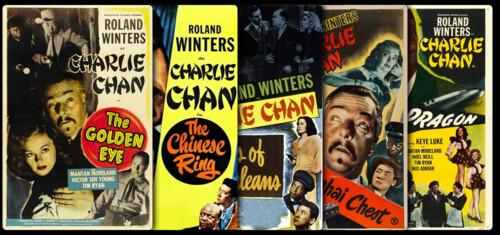 Charlie Chan (Roland Winters) - Saga