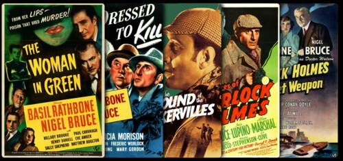 Sherlock Holmes (Basil Rathbone) Collection