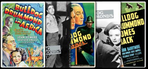 Bulldog Drummond (John Howard) Collection