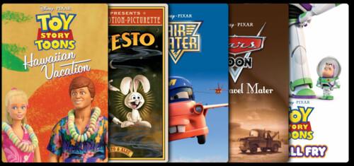 Pixar Short Films Collection, Volume 2