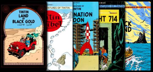 Tintin (Animation) - Saga