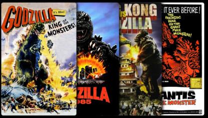 Americanized Godzilla Collection