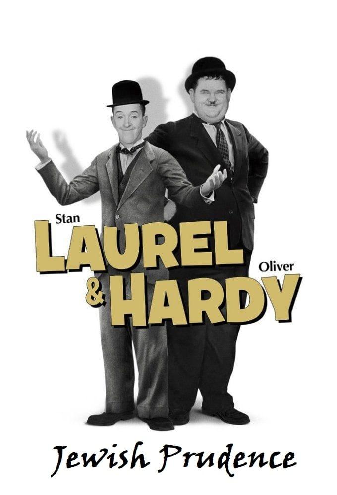 Laurel et Hardy - Prudence juive