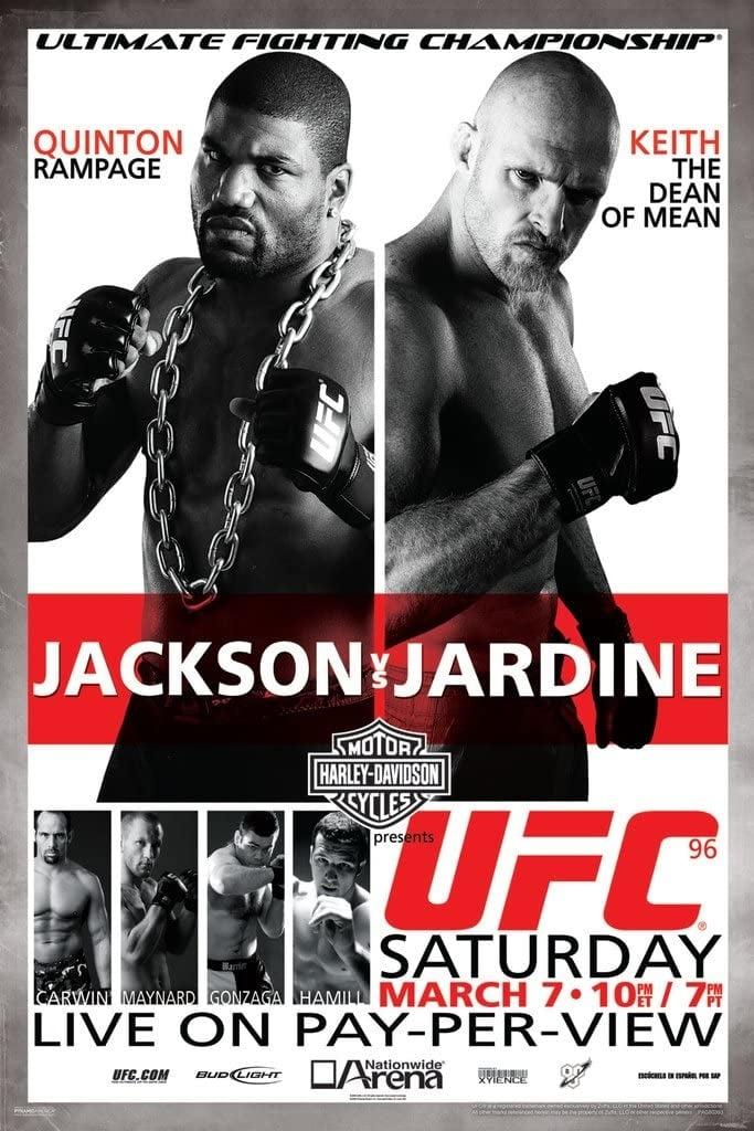UFC 96: Jackson Vs. Jardine