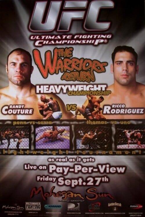 UFC 39: The Warriors Return