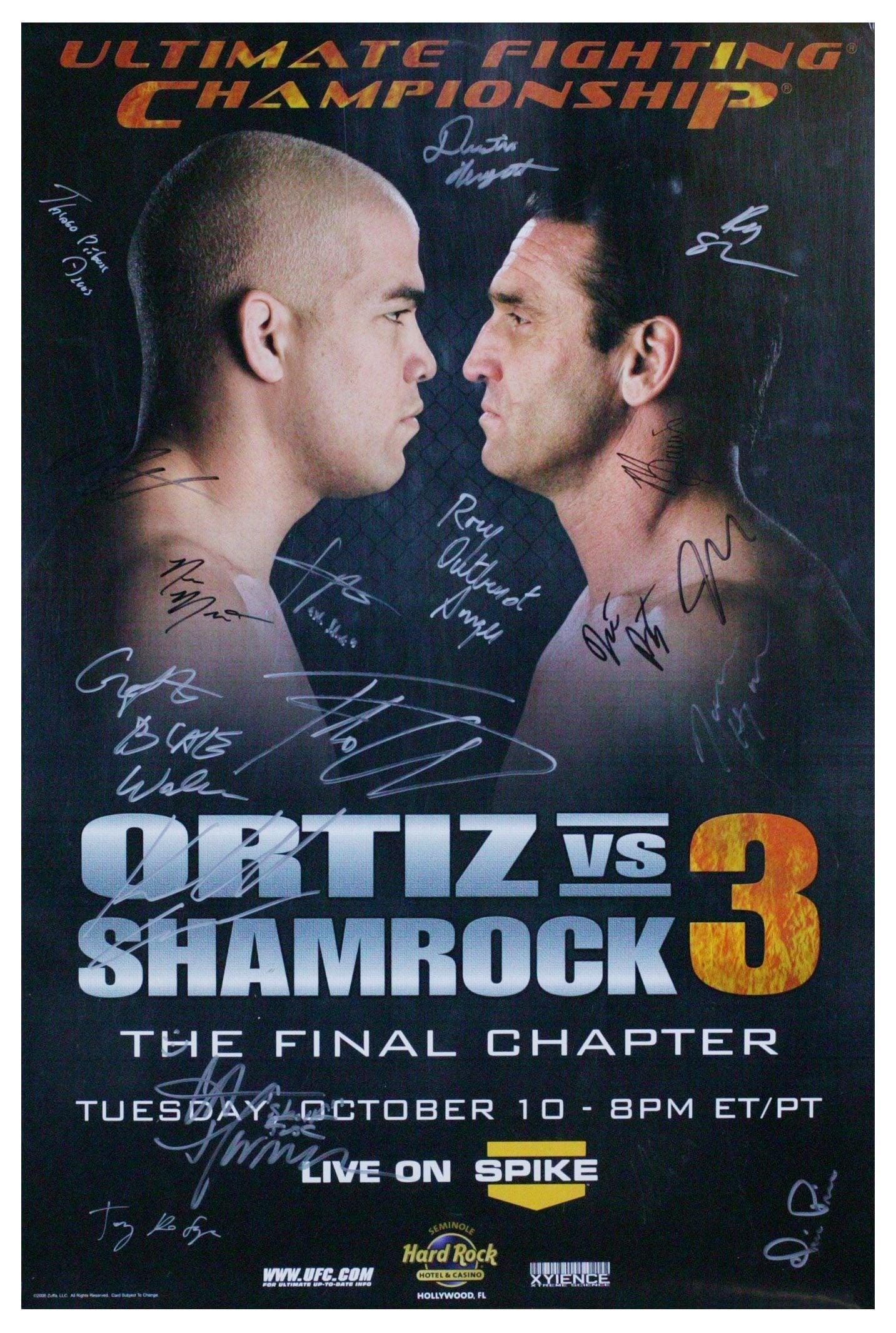 UFC Fight Night 6.5: Ortiz vs. Shamrock 3