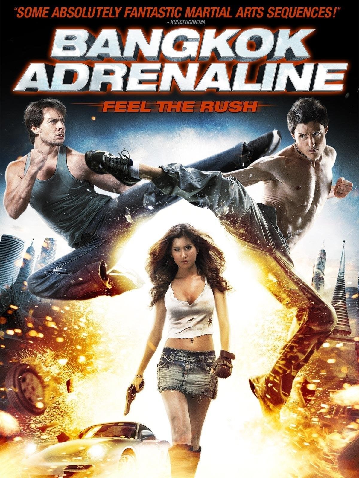 Adrenalina em Bangkok