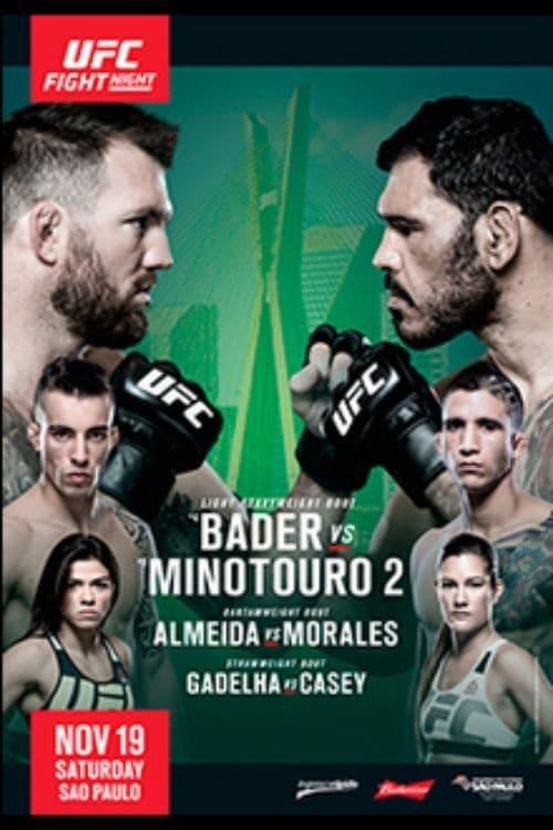 UFC Fight Night 100: Bader vs. Nogueira 2