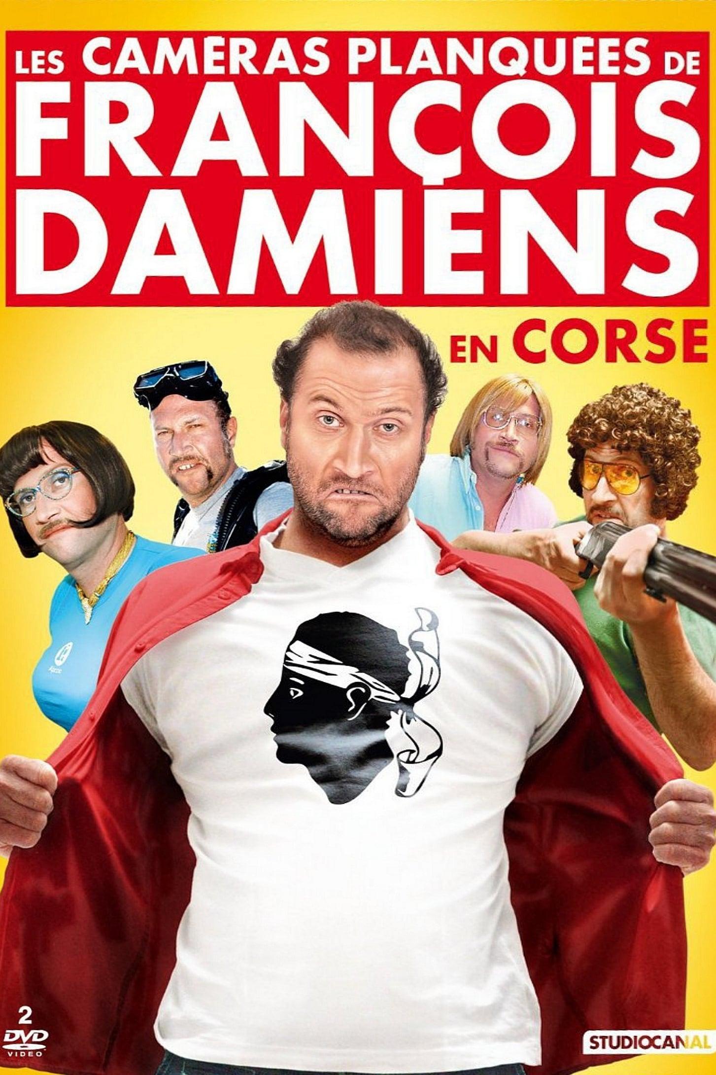 Les Caméras Planquées de François Damiens en Corse