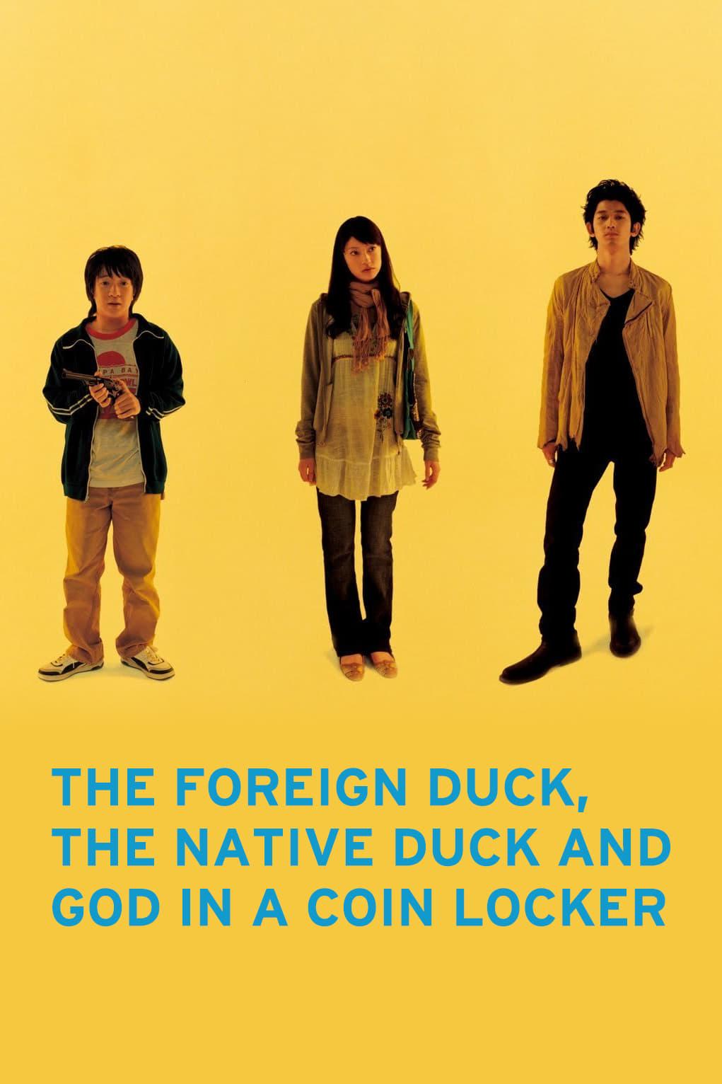 O Pato Estrangeiro, o Pato Nativo e Deus em um Armário de Moedas