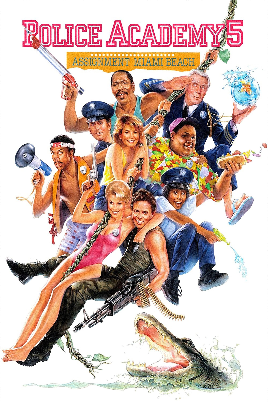 Loucademia de Polícia 5: Missão Miami Beach