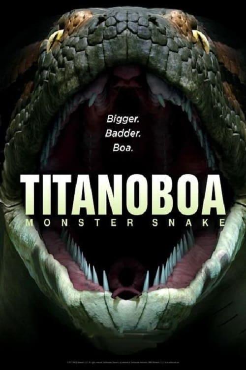 Titanoboa , ¿monstruo o serpiente?
