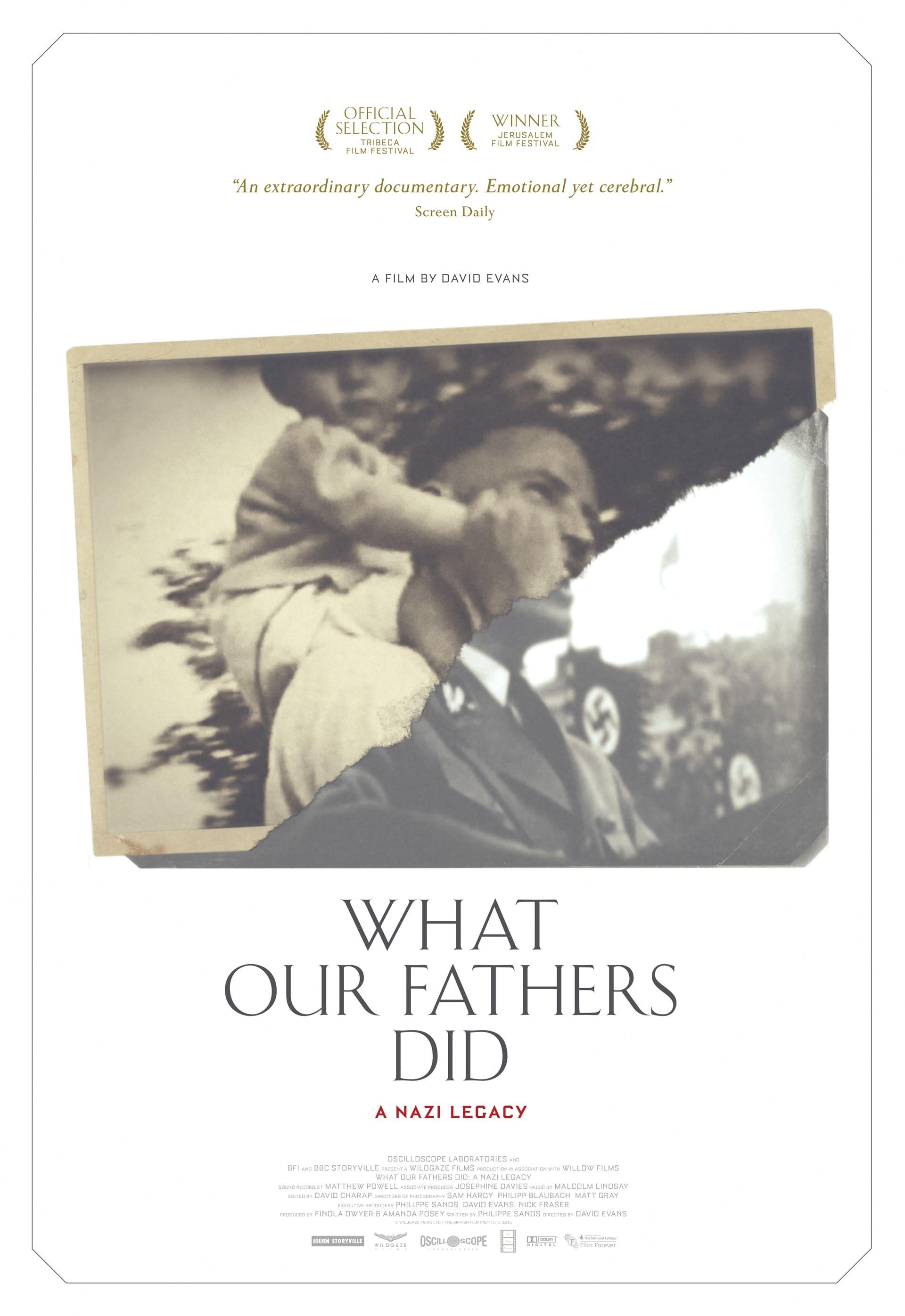 O Que Nossos Pais Fizeram: Um Legado Nazista