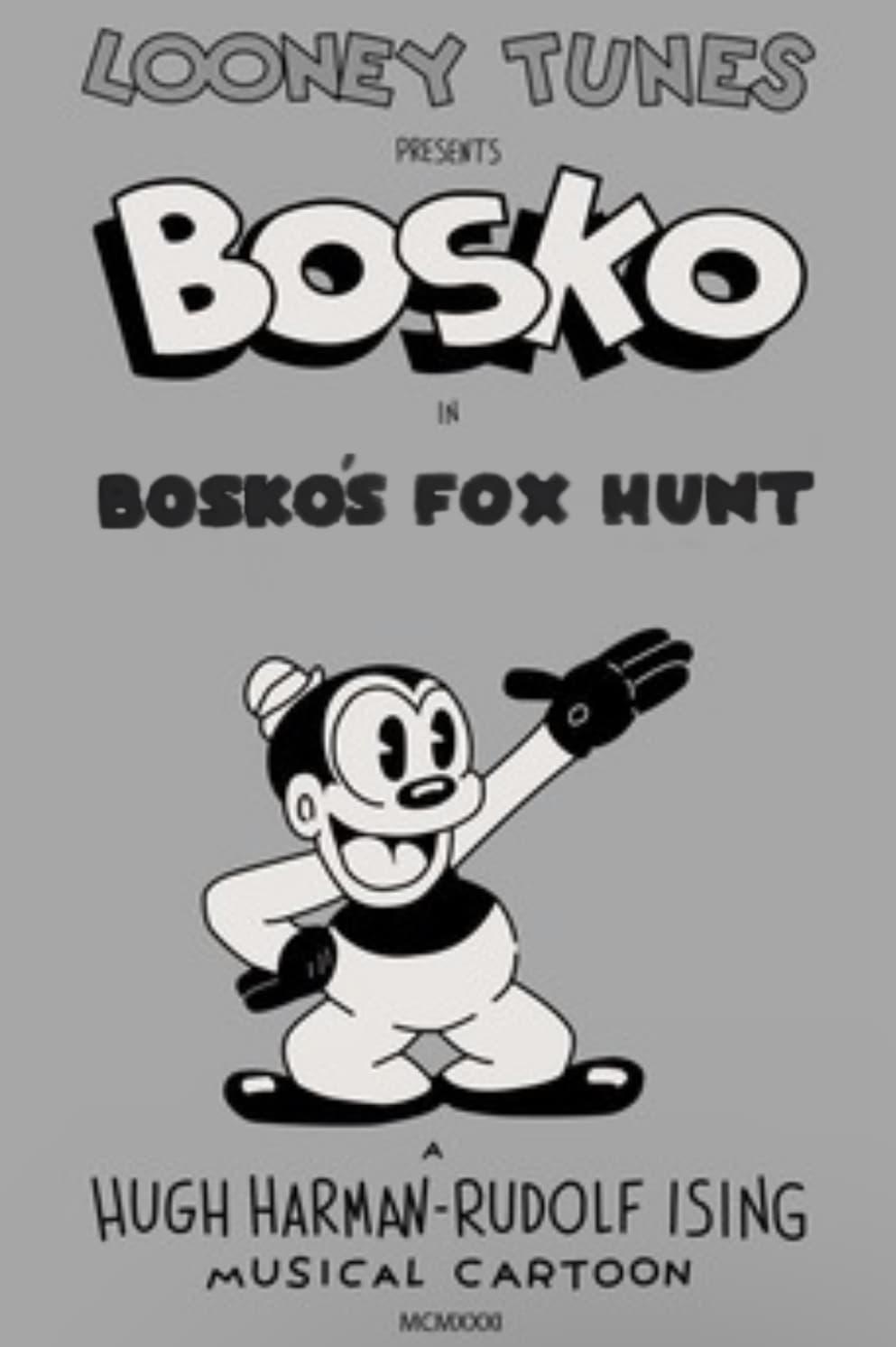 Bosko's Fox Hunt