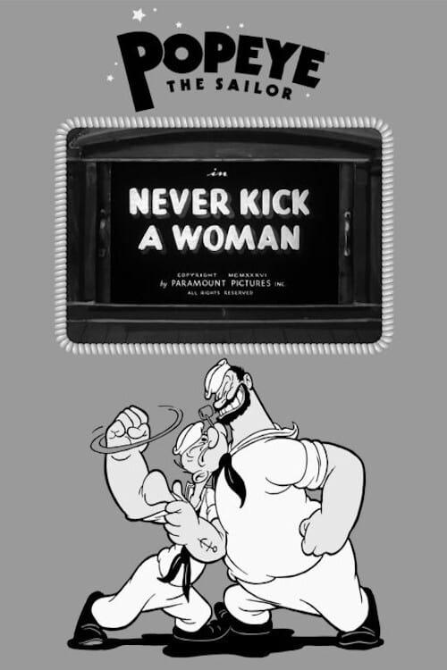 Never Kick a Woman