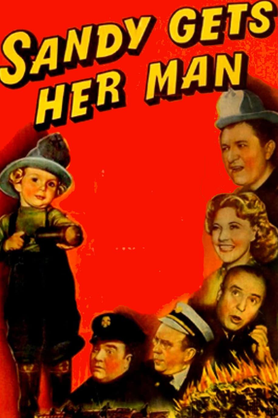 Sandy Gets Her Man