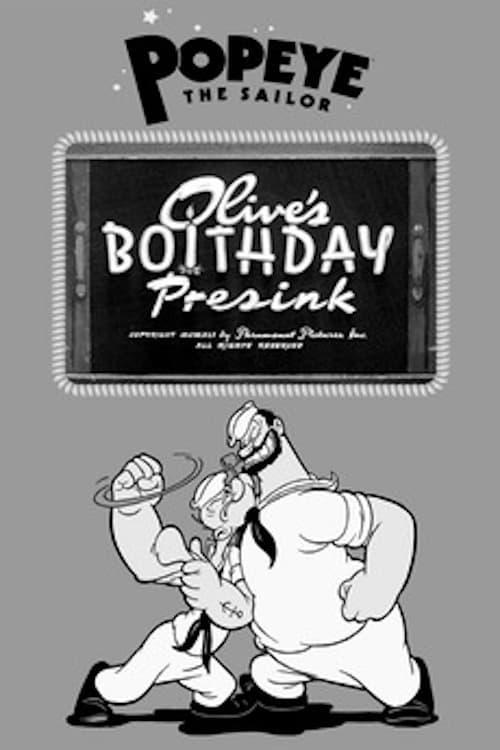 Olive's Boithday Presink