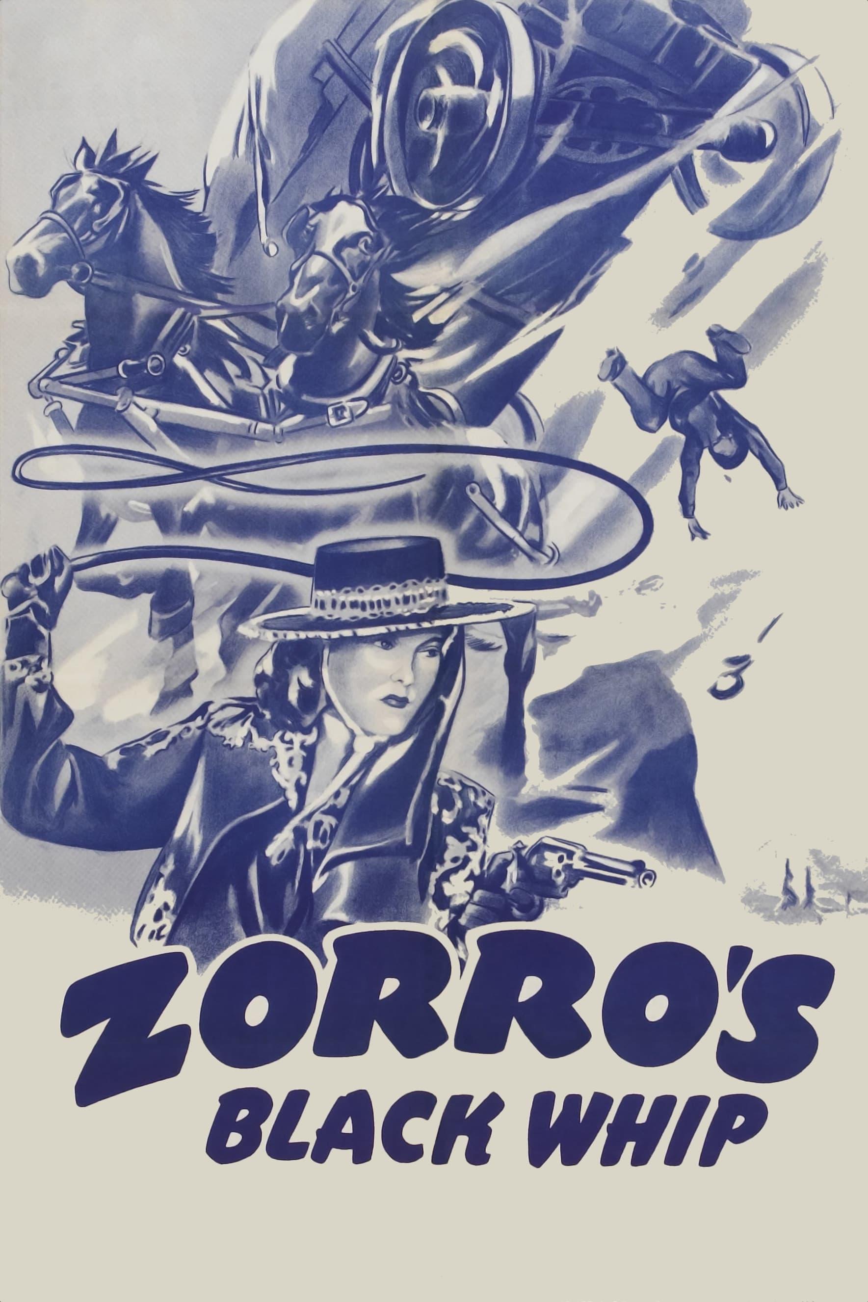 Zorro et la femme au masque noir