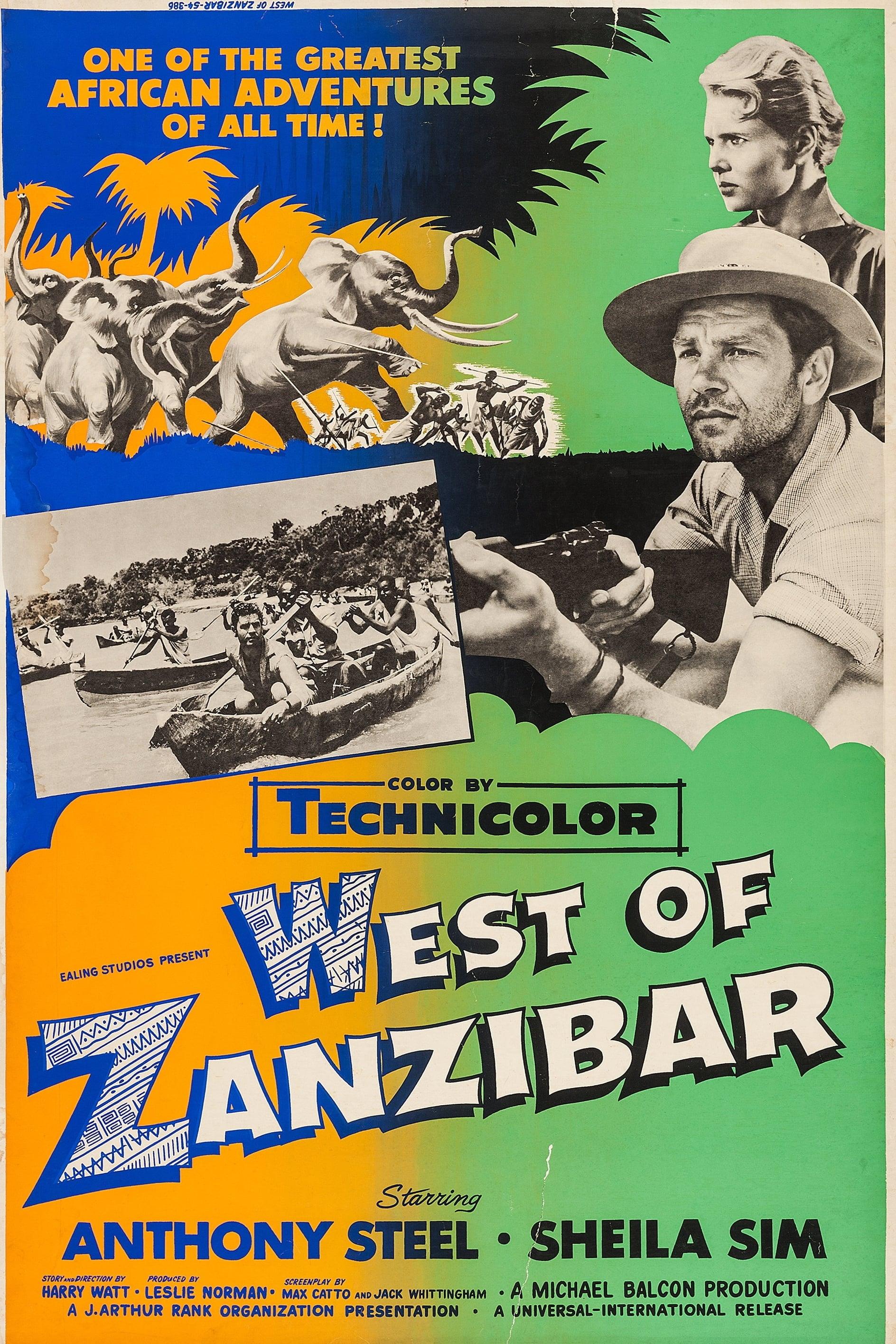 Al oeste de Zanzíbar