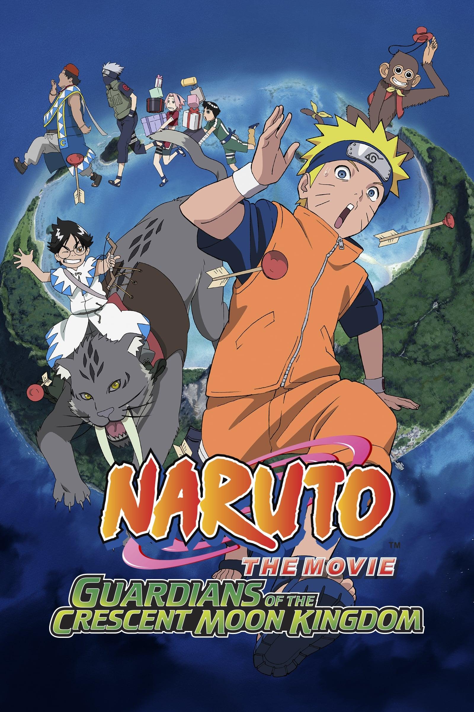 Naruto Filme 3: Grande Excitação! O Pânico Animal da Ilha Mikazuki