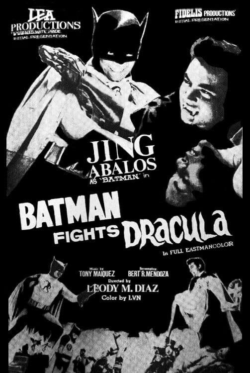Batman Fights Dracula