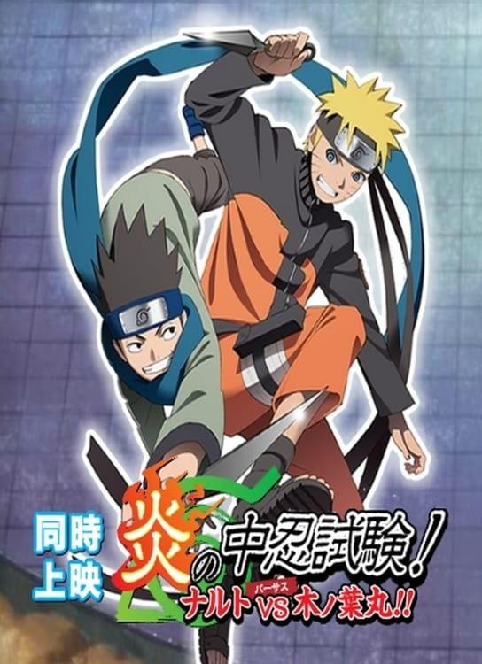 O Exame Chūnin das Chamas! Naruto vs Konohamaru!