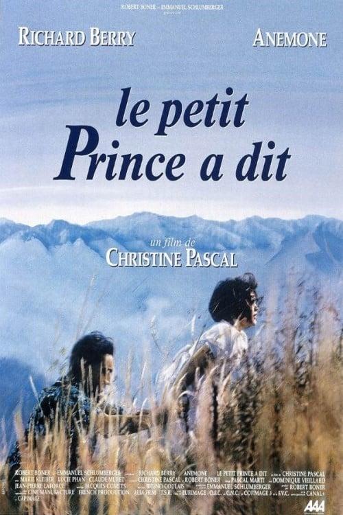 Le petit prince a dit