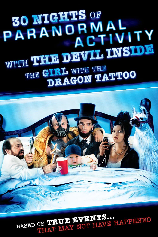 30 Noches de actividad paranormal con el diablo dentro de la chica del dragón tatuado