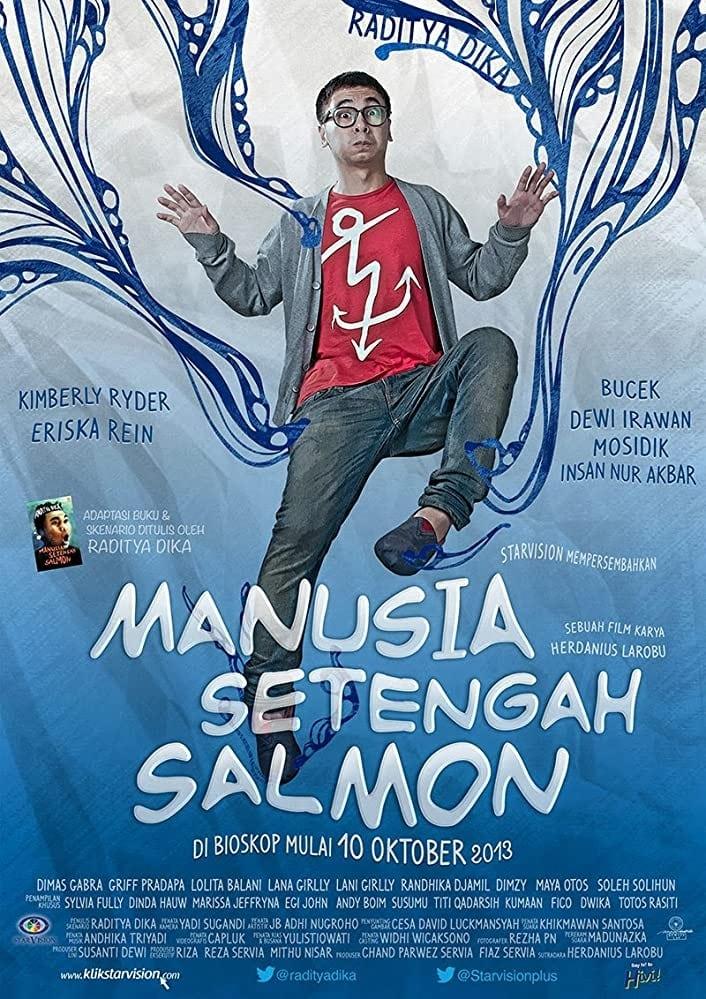 Half Salmon Man