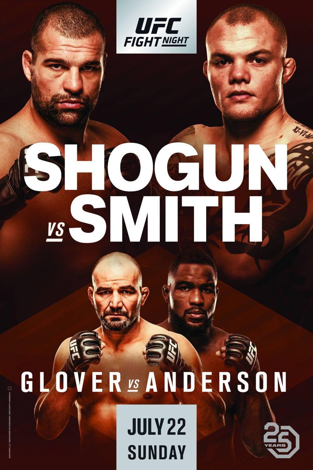 UFC Fight Night 134: Shogun vs. Smith
