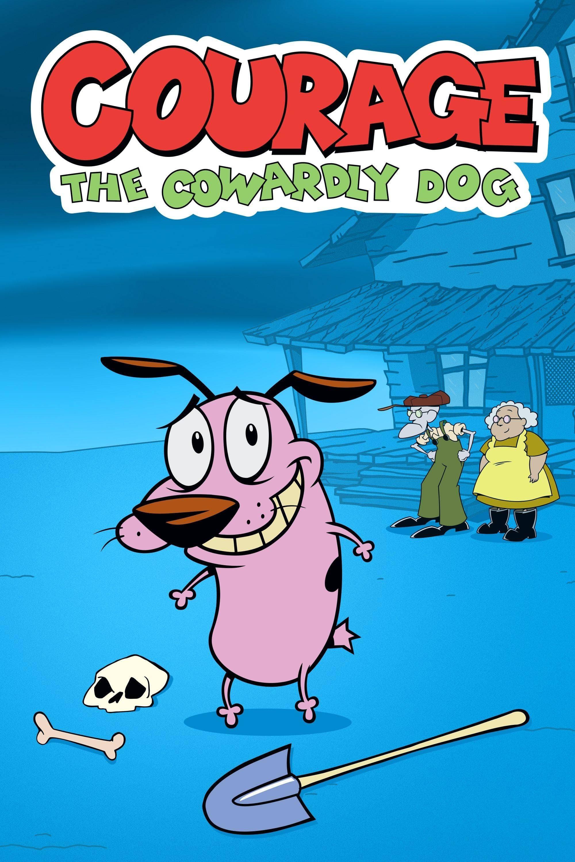 Agallas, el perro cobarde