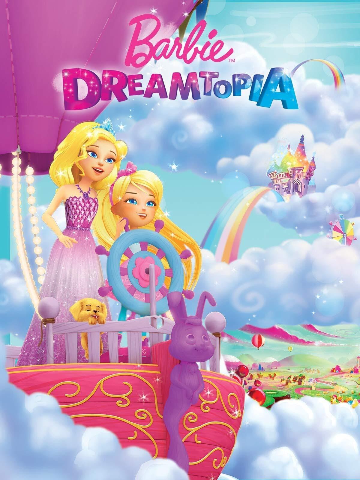Barbie Dreamtopia - Cabelos Mágicos
