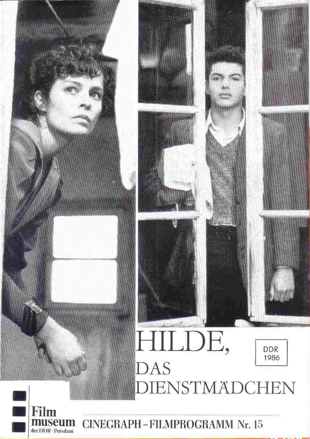 Hilde, das Dienstmädchen