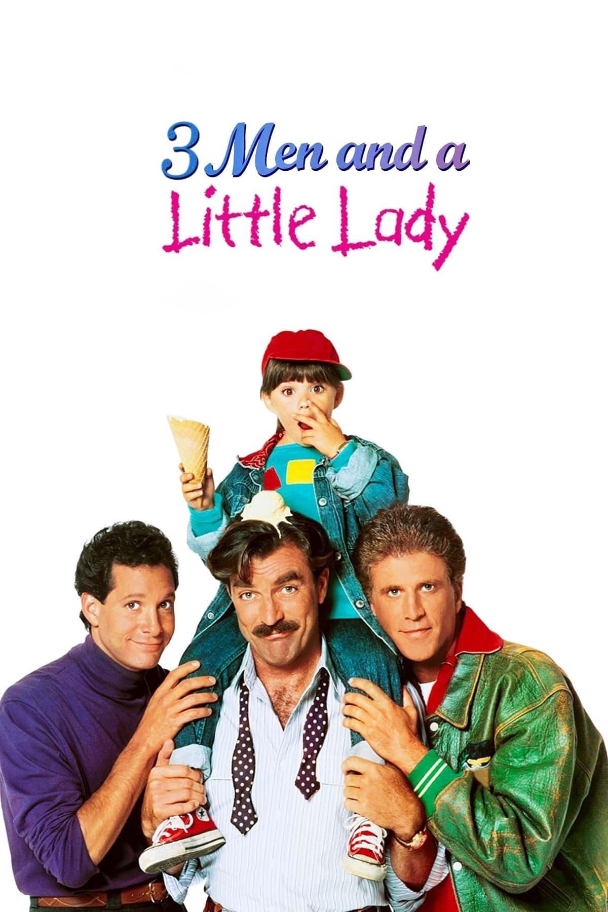 Tres hombres y una pequeña dama