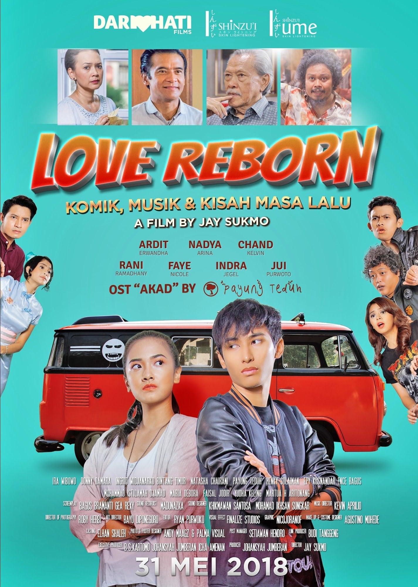 Love Reborn: Comics, Music & Stories of the Past
