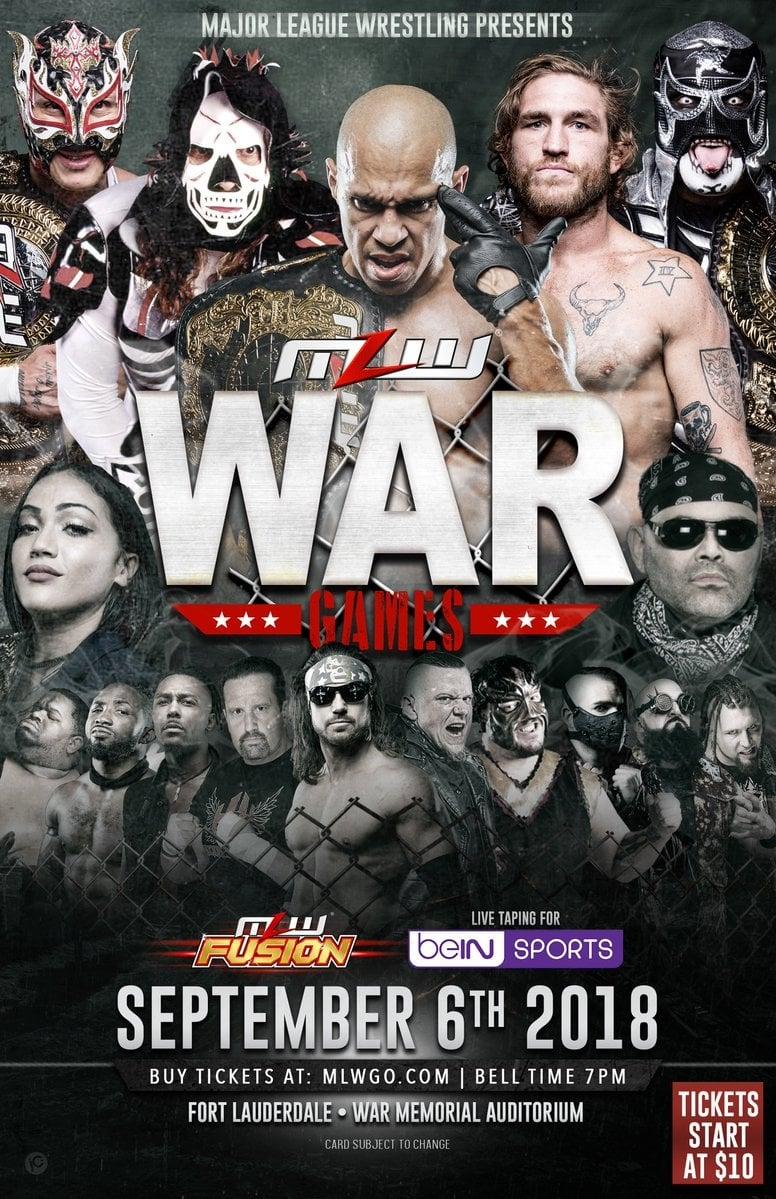 MLW War Games 2018