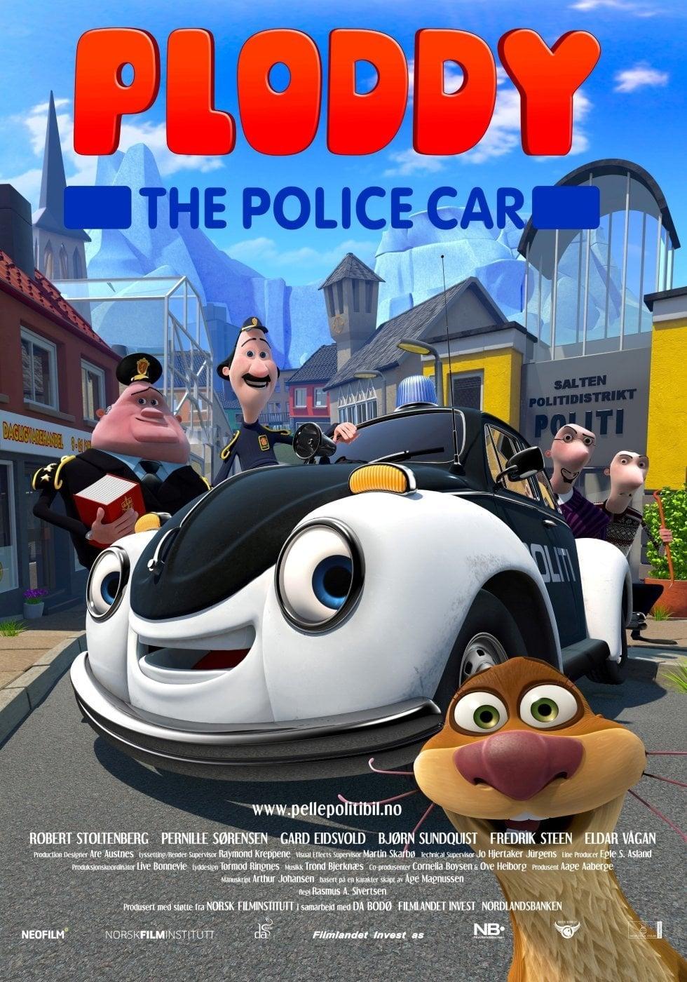 Ploddy the Police Car Makes a Splash