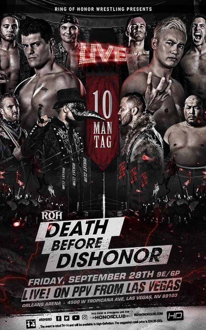 ROH Death Before Dishonor XVI