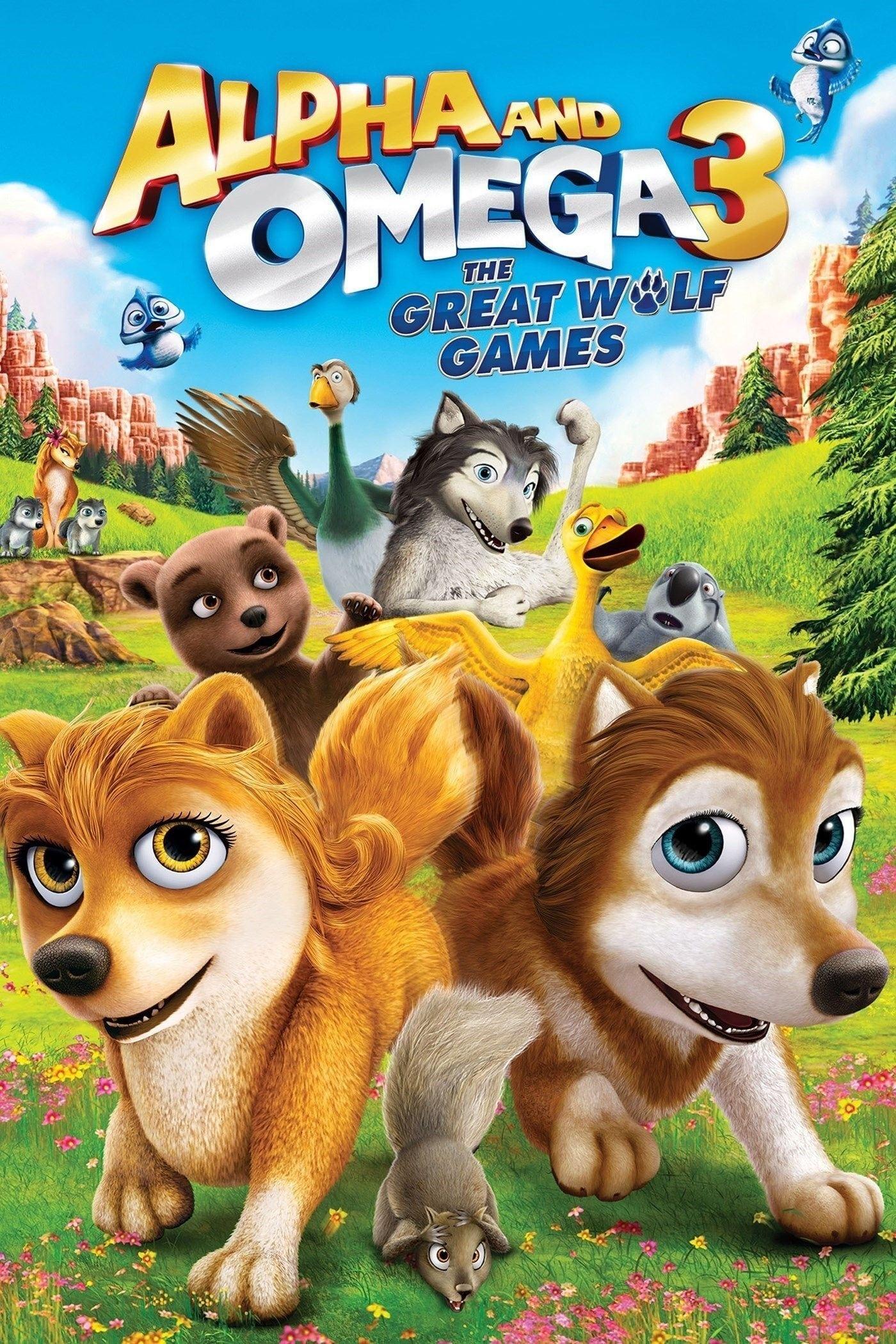 Alpha y Omega 3: Los grandes juegos de los lobos