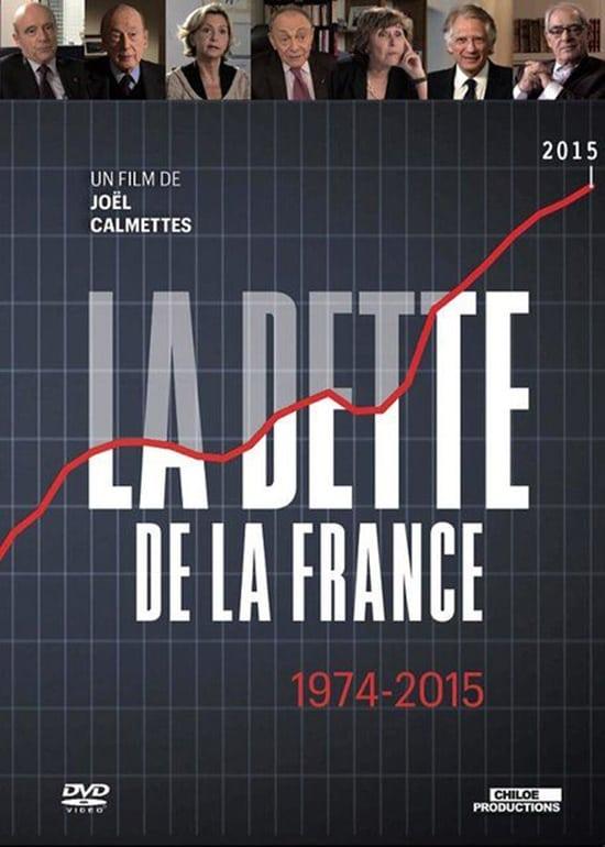 La dette de la France 1974-2015